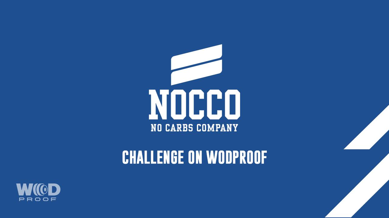 WODProof x NOCCO Challenge